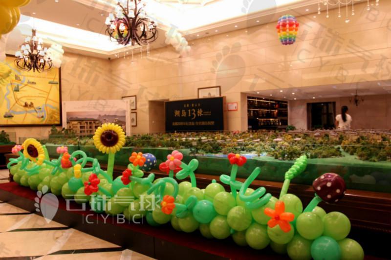供应向日葵气球/魔术气球向日葵/编织向日葵/气球造型/气球装饰