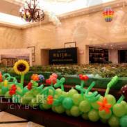 向日葵气球/魔术气球向日葵/图片
