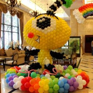 商场气球装饰/楼盘装饰/气球装饰图片