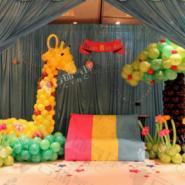 长颈鹿气球/梅花鹿气球/气球装饰图片