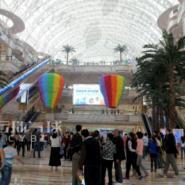 环球中心气球装饰/商场气球装饰图片