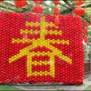 春节气球装饰/气球财神/气球造型图片