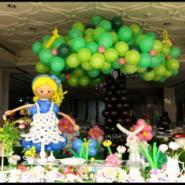 供应成都宝宝宴气球装饰/成都气球装饰
