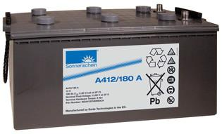 12V阳光蓄电池,免维护阳光电池,德国阳光蓄电池A412/180A,阳光电池厂家价格
