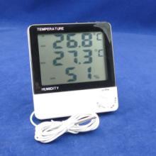 供应大屏幕室内室外温湿度计电子温度计批发