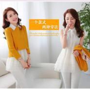 2014春装新款韩版两件套女装图片