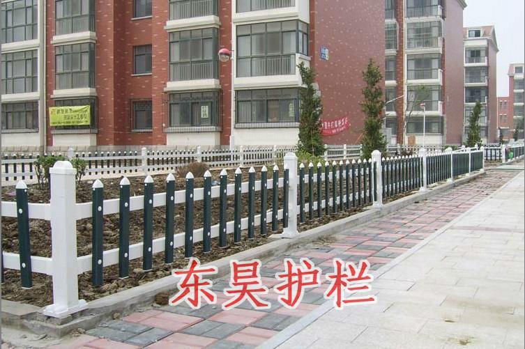 南京 pvc/供应PVC草坪护栏南京景观围栏PVC草地栅栏批发价格图片