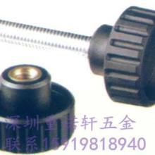 供应胶头螺母m6*25固定直纹把手 胶木螺丝螺母手柄固定直纹把手
