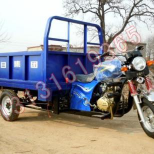 隆鑫蓝色200货运三轮摩托车图片