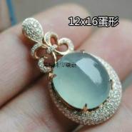 925银珠宝配件戒指手链吊坠托图片