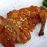 北京张英茶油鸭加盟图片