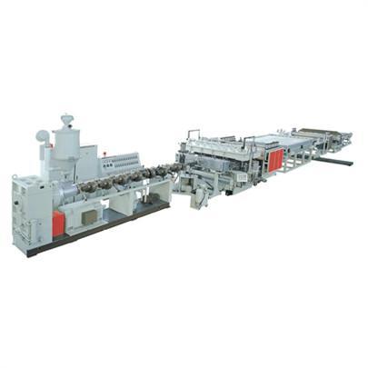 苏州PE/PP和PVC木塑挤出生产线