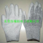 江门防静电碳纤维PU涂指手套价格图片