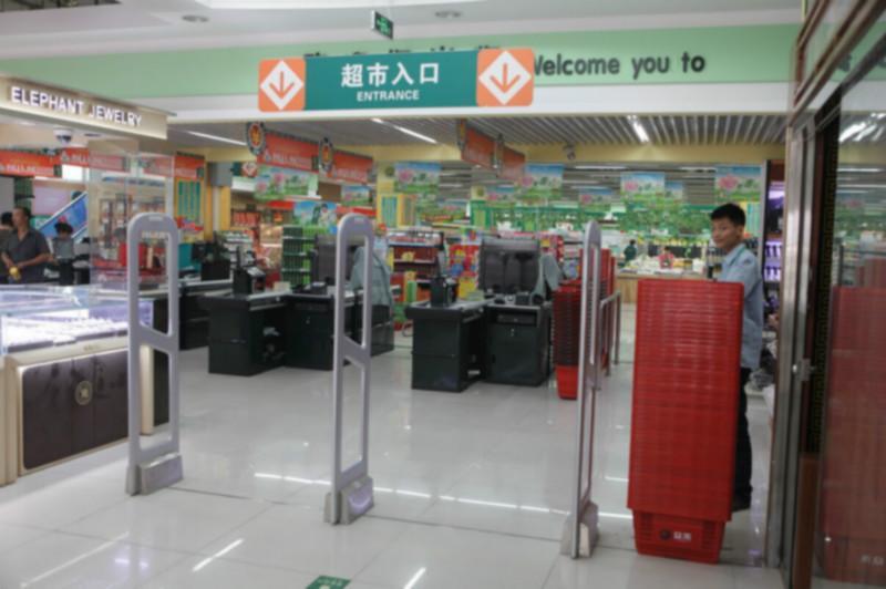 供应超宽声磁超市防盗门图片