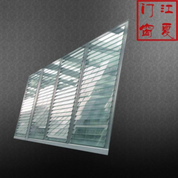 供应电动玻璃百叶窗生产公司电话图片