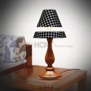磁悬浮工艺品/黑色网格台灯图片