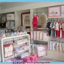 供应母婴用品店装修烤漆展柜广州星晨展柜XC026环保烤漆批发