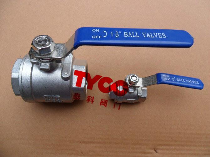 供应ty-q11f二片式内螺纹球阀图片