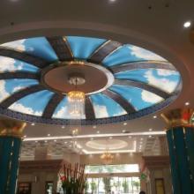 供应瑞昌贵溪鹰潭透光膜灯箱软膜天花吊顶UV写真造型天花广告灯箱布
