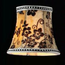 供应帝鹏水晶灯专用高档灯罩多款灯具配件E14灯头灯泡现代田园护罩批发