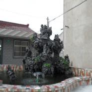 上海假山制作公司图片