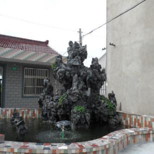 杭州英石假山图片