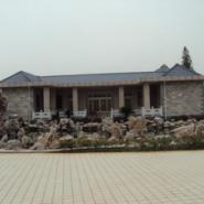 上海浦东假山水池图片