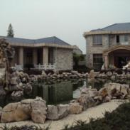 上海别墅绿化公司图片