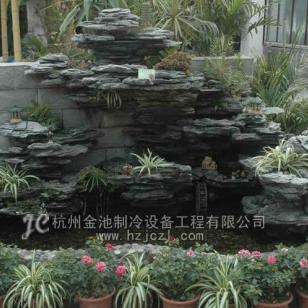 上海别墅英石假山图片
