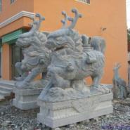 陕西石雕麒麟图片