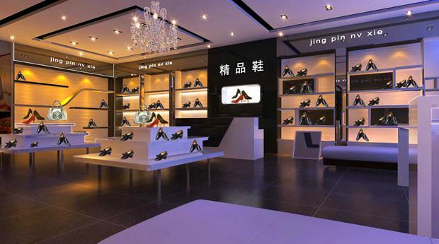 鞋店设计图片  生产厂家:                          成都装饰装修