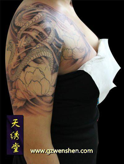 广州纹身图片