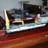 供应南通专业制作浅水铺管船模型/上海深水铺管船舶模型专业制作公司