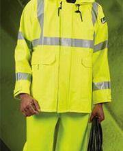 供应雷克兰PU阻燃防电弧雨衣图片