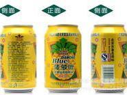 供应蓝带啤酒批发 蓝带菠萝啤330ml24听装 蓝带啤酒批发配送