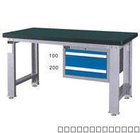 供应工位器具单吊柜工作桌(B)