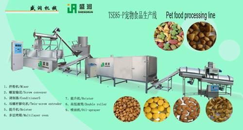 供应宠物食品膨化机械图片