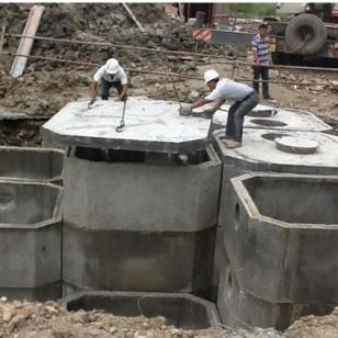 白城造价最低专业预制化粪池检查井图片