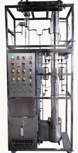 供应实验室10L不锈钢精馏塔价格