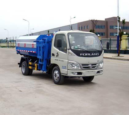供应福田自装卸式垃圾车图片