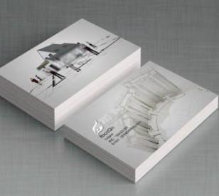 坦洲300g铜版纸彩色双面印刷名片图片