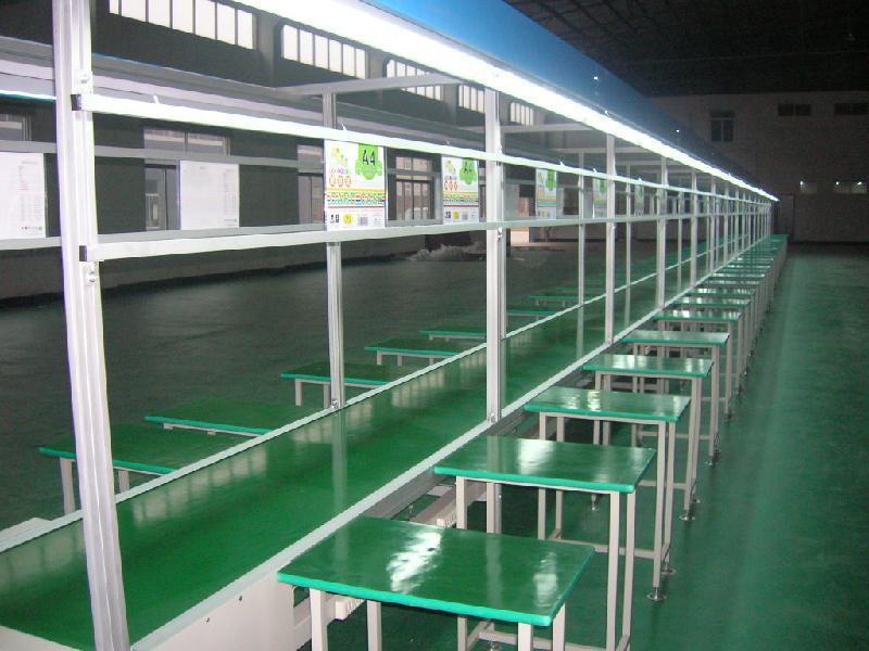 供应PVC皮带流水线/皮带生产线图片