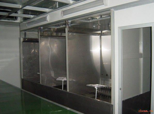 供应多工位水帘柜图片