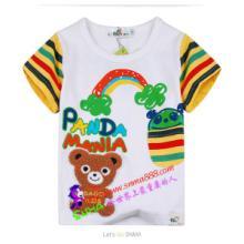 原单外贸童t恤批发新款卡通休闲男童t恤儿童纯棉上衣A1210批发