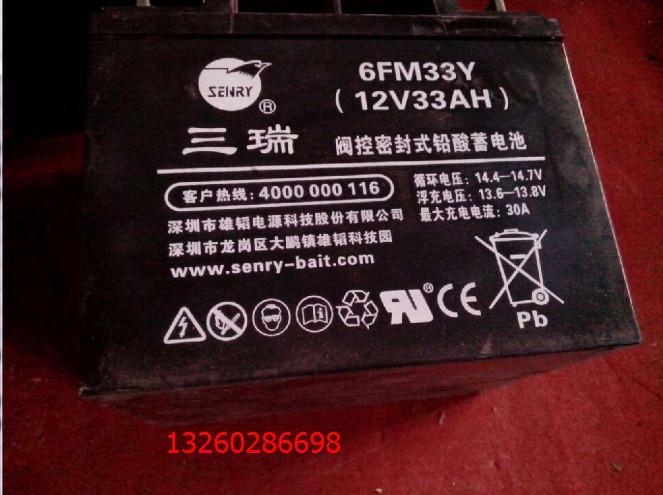 供应三瑞蓄电池CP12-65,免维护蓄电池三瑞其他蓄电池