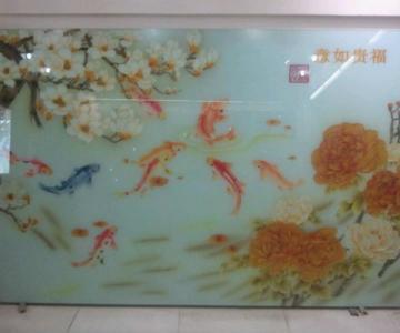 供应新疆砂雕玻璃报价/新疆砂雕批发厂家/哪里有卖的图片