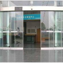 供应上海松江区洞泾镇双开感应门维修,自动感应玻璃门安装,维修