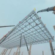 云南普洱螺栓球网架设计安装图片