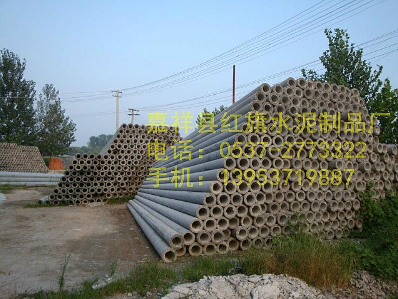 供应淮南市10米混凝土电杆制作厂家