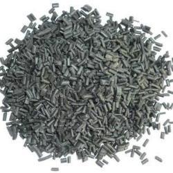 再生塑料顆粒LDPE深灰色三級料吹膜注塑